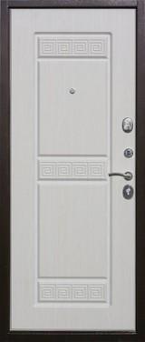 Дверь Цитадель Троя Античная медь  Белый ясень