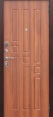 Дверь Цитадель Гарда 8мм внутреннее открывание Античная медь  Рустикальный дуб