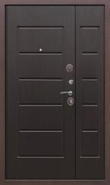 Дверь Цитадель 7,5см Гарда 1200 Античная медь  Венге