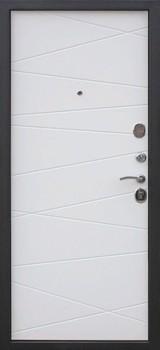 Дверь Цитадель 9,5 Верона Венге  Белый ясень