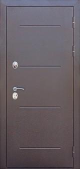 Дверь Цитадель 11см Isoterma Античная медь  Лиственница мокко