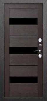 Дверь Цитадель 11см Isoterma Серебро  Темный кипарис