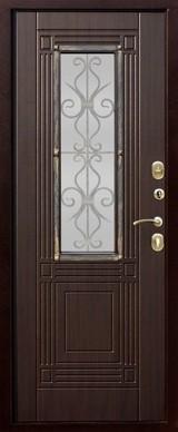 Дверь Цитадель Венеция Античная медь  Венге