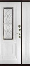 Дверь Цитадель Венеция 1200 Античная медь  Белый ясень