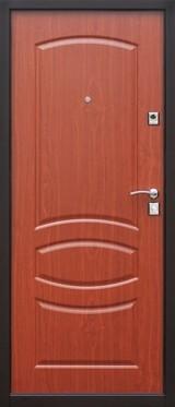 Дверь Цитадель Стройгост 7-2 Античная медь  Итальянский орех