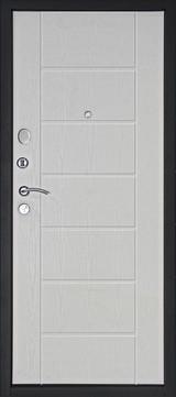 Дверь Дверной континент Тепло-люкс Венге  Белёный дуб
