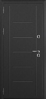 Дверь Дверной континент Термаль Графит  Венге
