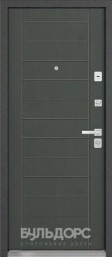 Дверь Бульдорс 54 Черный шелк K-2 Дуб графитовый матовый N-10