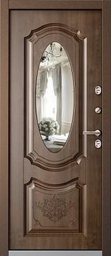 Дверь Бульдорс Termo-1 Античная медь  Орех грецкий TB-7.2