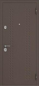 Дверь Бульдорс 14 Античная медь R-2 Дуб беленый B-2