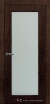 Дверь Краснодеревщик 80 04 Дуб мореный натуральный шпон