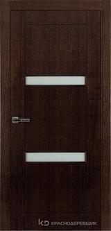 Дверь Краснодеревщик 80 06 Дуб мореный натуральный шпон