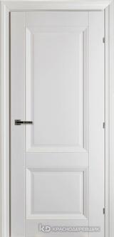 Дверь Краснодеревщик К3 45Ф с фурнитурой, Белый CPL