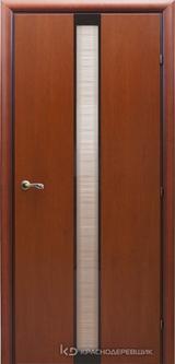 Дверь Краснодеревщик 73 04 с фурнитурой, Бразильская груша натуральный шпон