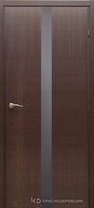 Дверь Краснодеревщик 73 06 с фурнитурой, Дуб кофе натуральный шпон