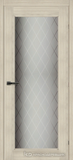 Дверь Краснодеревщик 63 40 с фурнитурой, Ноче соренто CPL