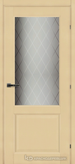 Дверь Краснодеревщик 63 24 с фурнитурой, Санжан CPL
