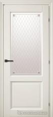 Дверь Краснодеревщик 63 24 с фурнитурой, Белый CPL