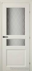 Дверь Краснодеревщик 63 34 с фурнитурой, Белый CPL