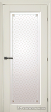 Дверь Краснодеревщик 63 40 с фурнитурой, Белый CPL