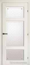 Дверь Краснодеревщик 63 42 с фурнитурой, Белый CPL