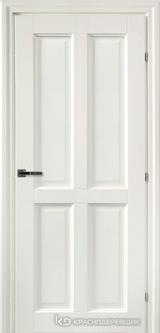 Дверь Краснодеревщик 63 44 с фурнитурой, Белый CPL