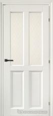 Дверь Краснодеревщик 63 46 с фурнитурой, Белый CPL