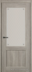 Дверь Краснодеревщик 63 24 с фурнитурой, Дуб пепельный CPL