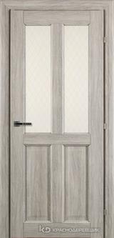 Дверь Краснодеревщик 63 46 с фурнитурой, Дуб пепельный CPL