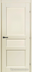 Дверь Краснодеревщик 63 33 с фурнитурой, Слоновая кость CPL
