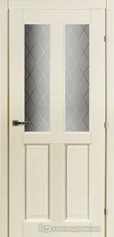 Дверь Краснодеревщик 63 46 с фурнитурой, Слоновая кость CPL
