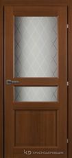 Дверь Краснодеревщик 63 34 с фурнитурой, Танганика CPL