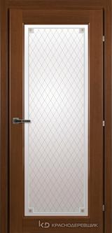 Дверь Краснодеревщик 63 40 с фурнитурой, Танганика CPL