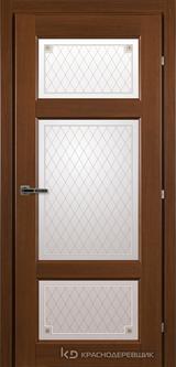 Дверь Краснодеревщик 63 42 с фурнитурой, Танганика CPL