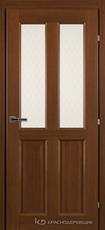 Дверь Краснодеревщик 63 46 с фурнитурой, Танганика CPL