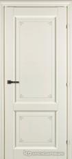 Дверь Краснодеревщик 63 23 с фурнитурой, Слоновая кость с печатью CPL