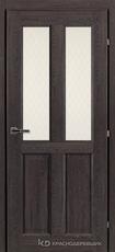Дверь Краснодеревщик 63 46 с фурнитурой, Дуб шварц CPL