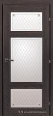 Дверь Краснодеревщик 63 42 с фурнитурой, Дуб шварц CPL