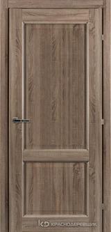 Дверь Краснодеревщик 63 23 с фурнитурой, Сонома ламинат