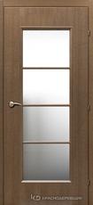 Дверь Краснодеревщик 50 40 с фурнитурой, Дуб риэль CPL