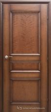 Дверь Краснодеревщик 33 43 с фурнитурой, Кофе натуральный шпон