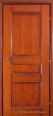 Дверь Краснодеревщик 33 43 с фурнитурой, Бразильская груша натуральный шпон