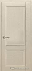 Дверь Краснодеревщик 33 23 с фурнитурой, Эмаль жемчужная натуральный шпон