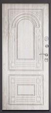 Дверь Дверной континент Флоренция Темный орех  Беленный дуб