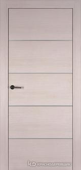 Дверь Краснодеревщик 7 00М (молдинг) с фурнитурой, Дуб светлый sincrolam