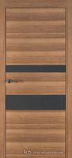 Дверь Краснодеревщик 7 03 (стекло Мателак сильвер) с фурнитурой, Дуб чайный sincrolam