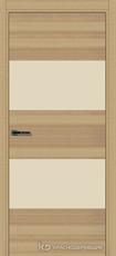 Дверь Краснодеревщик 7 05 (стекло Лакобель жемчужно-белый) с фурнитурой, Дуб натуральный sincrolam