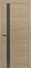 Дверь Краснодеревщик 7 01 (стекло Сильвер) с фурнитурой, Серо-зеленый sincrolam