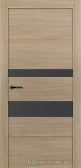 Дверь Краснодеревщик 7 03 (стекло Сильвер) с фурнитурой, Серо-зеленый sincrolam