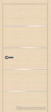 Дверь Краснодеревщик 7 00М (молдинг) с фурнитурой, Дуб выбеленный sincrolam